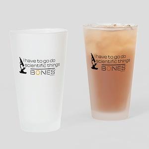Bones Scientific Drinking Glass
