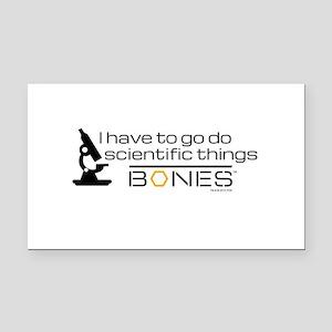 Bones Scientific Rectangle Car Magnet
