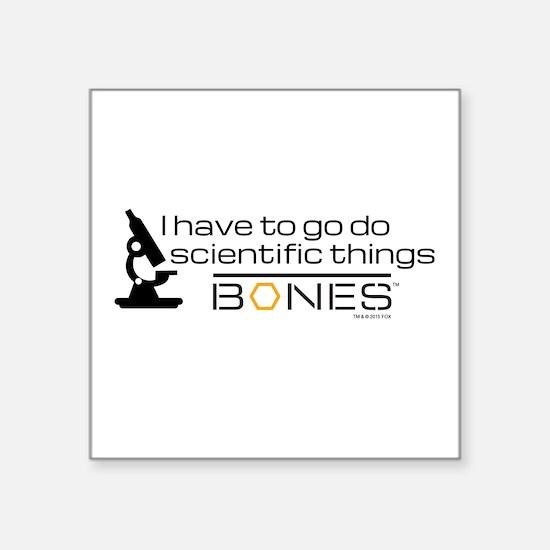 """Bones Scientific Square Sticker 3"""" x 3"""""""