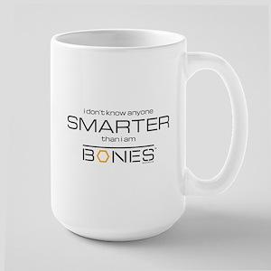 Bones Smarter Large Mug
