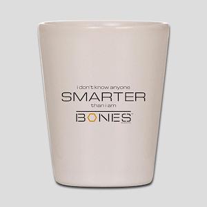 Bones Smarter Shot Glass