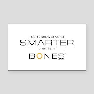 Bones Smarter Rectangle Car Magnet