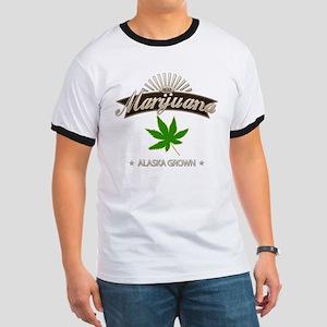 Smoking Alaska Grown Marijuana Ringer T