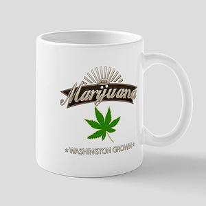 Smoking Washington Grown Marijuana Mug