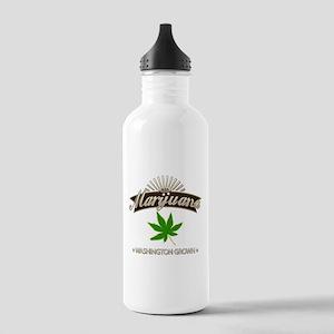 Smoking Washington Gro Stainless Water Bottle 1.0L
