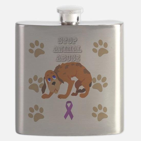 Cute Animal abuse Flask