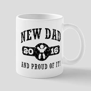 Proud New Dad 2016 Mug