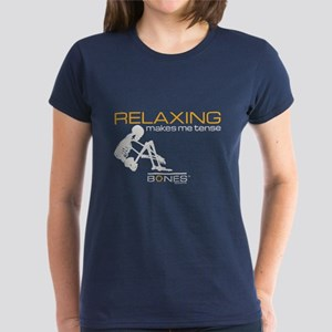 Bones Relaxing Women's Dark T-Shirt