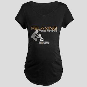 Bones Relaxing Maternity Dark T-Shirt