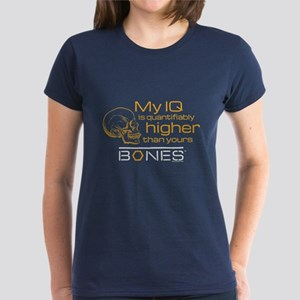 Bones IQ Women's Dark T-Shirt