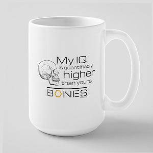 Bones IQ Large Mug