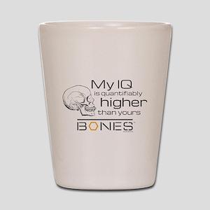 Bones IQ Shot Glass