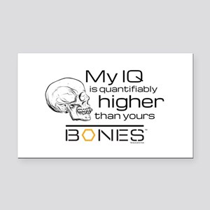 Bones IQ Rectangle Car Magnet