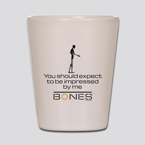 Bones Impressed Shot Glass
