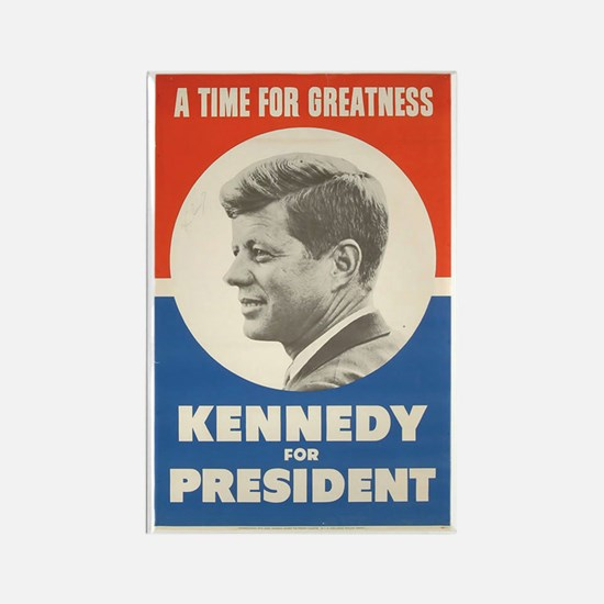 Cute John kennedy Rectangle Magnet