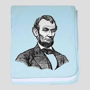 Lincoln baby blanket