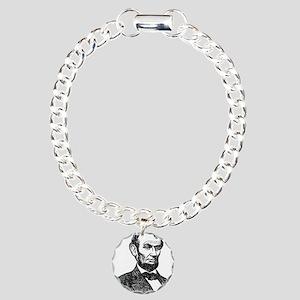 Lincoln Charm Bracelet, One Charm