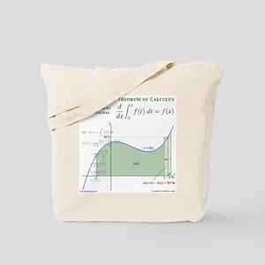 Fundamental Theorem of Calculus Tote Bag