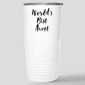 World's Best Aunt Travel Mug
