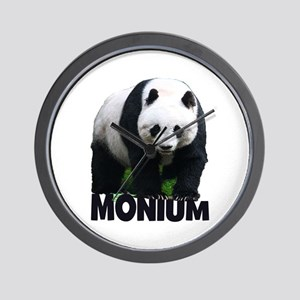 PANDA-MONIUM Wall Clock