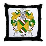 Laso Family Crest Throw Pillow