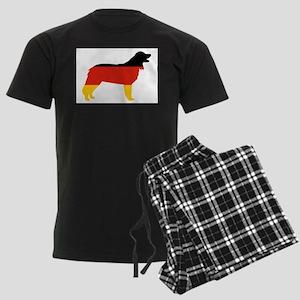 hovawart flag silhouette Pajamas