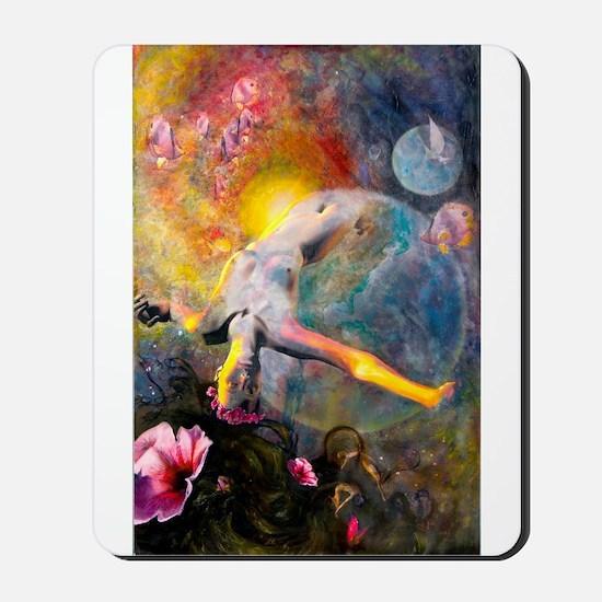 Gaia- Mother Goddess Mousepad