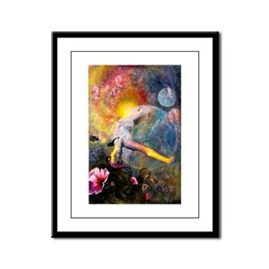 Gaia- Mother Goddess Framed Panel Print