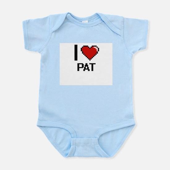 I Love Pat Body Suit