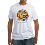 Lamas Family Crest Fitted T-Shirt
