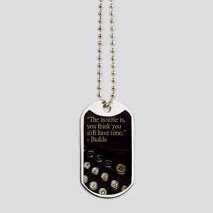 """Time"" Vintage Typewriter Collection Dog Tags"