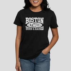 Boston Native Women's Dark T-Shirt