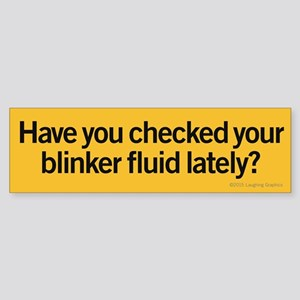 Blinker Fluid Sticker (Bumper)