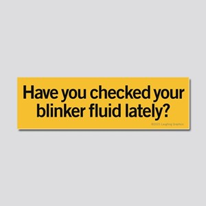 Blinker Fluid Car Magnet 10 x 3