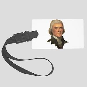 Thomas Jefferson Large Luggage Tag