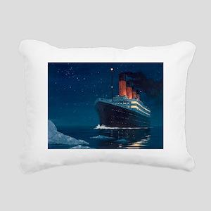 Titanic Rectangular Canvas Pillow