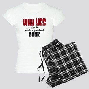 World's Greatest Cook Women's Light Pajamas