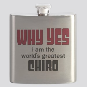 World's Greatest Chiro Flask