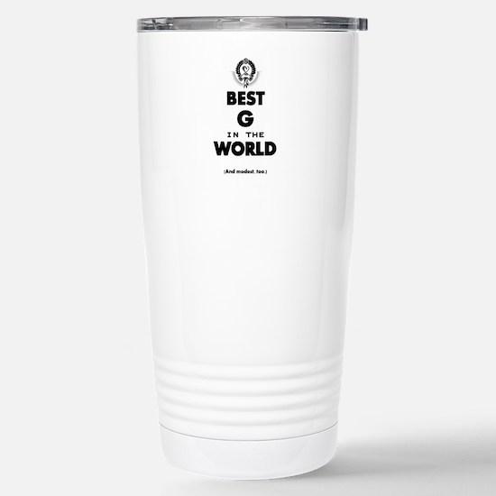 Best G Stainless Steel Travel Mug