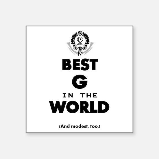 Best G Sticker
