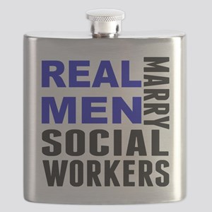 Real Men Marry Social Workers Flask