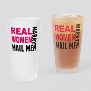 Real Women Marry Mail Men Drinking Glass