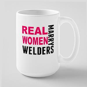Real Women Marry Welders Mugs