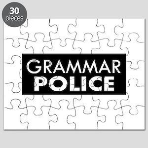 Grammar Police – Black Puzzle