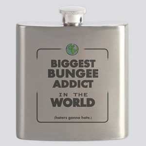 Biggest Bungee Addict in the World Flask