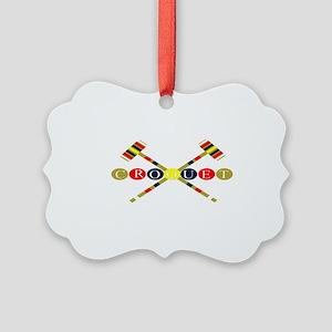 Croquet Ornament