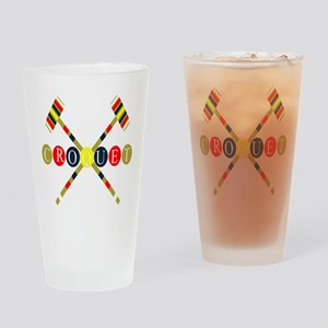 Croquet Drinking Glass