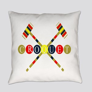 Croquet Everyday Pillow
