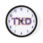 Taekwondo TKD Wall Clock