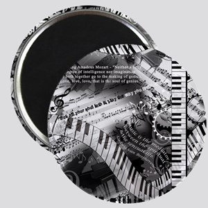 Classical Piano Mozart Music Quotes Art Pr Magnets